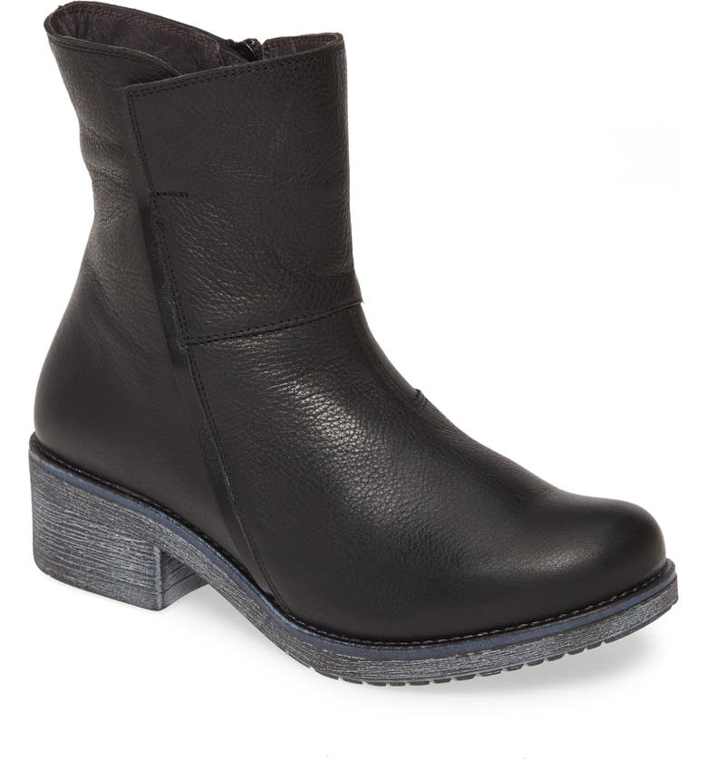 NAOT Hipster Boot, Main, color, BLACK LEATHER
