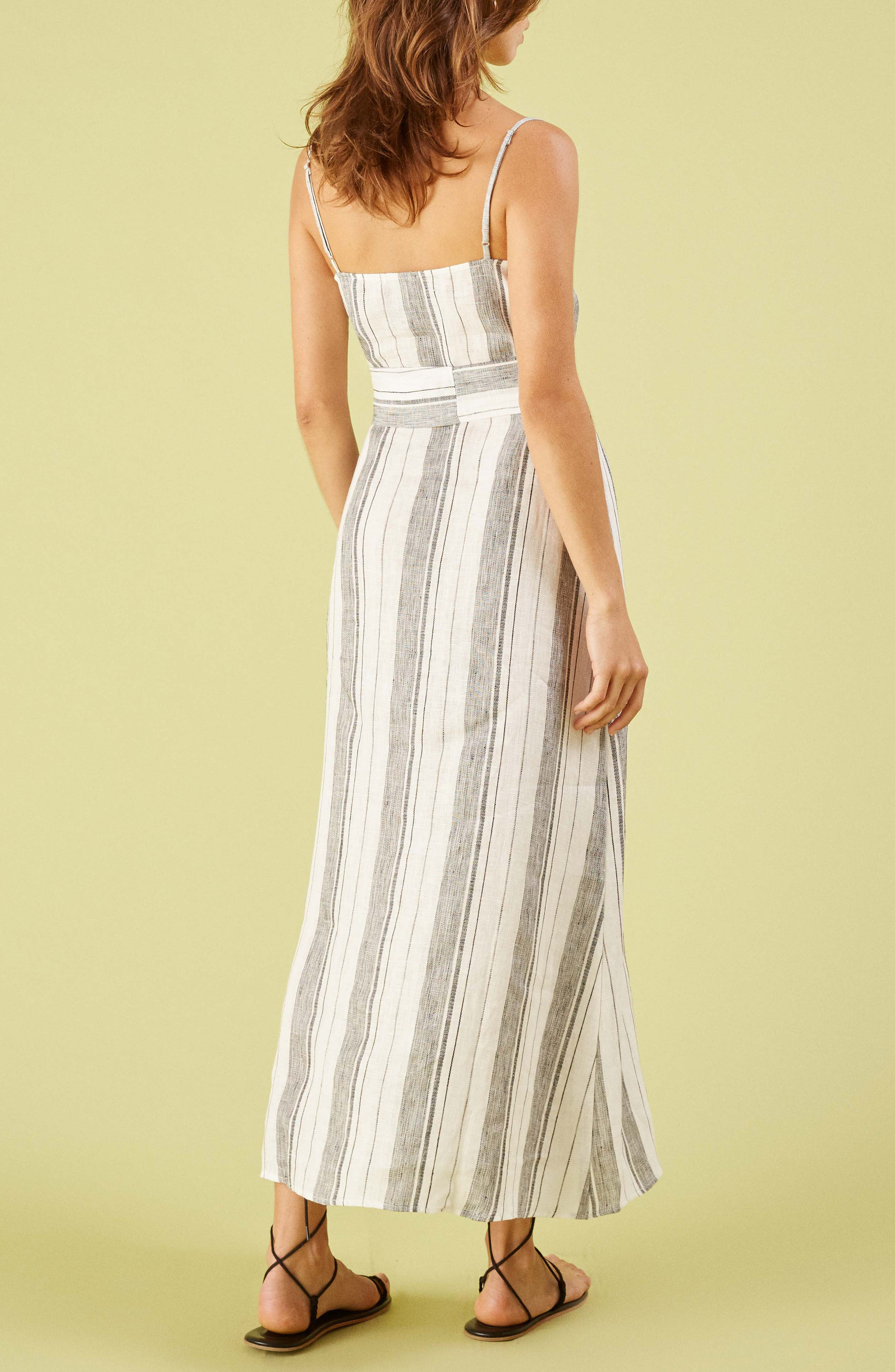 ,                             Pineapple Maxi Dress,                             Alternate thumbnail 2, color,                             LOUSIANA STRIPE