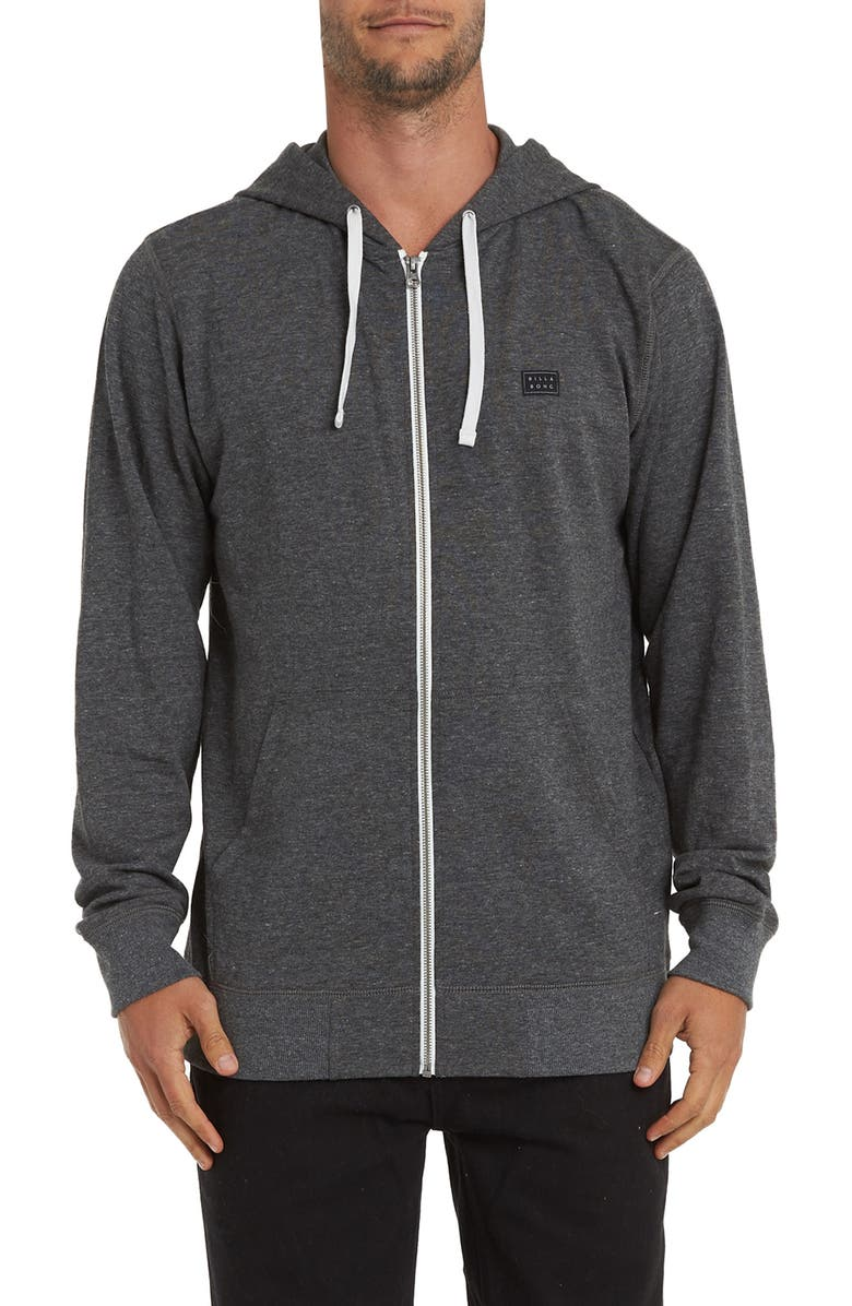 BILLABONG All Day Zip Hoodie, Main, color, 001