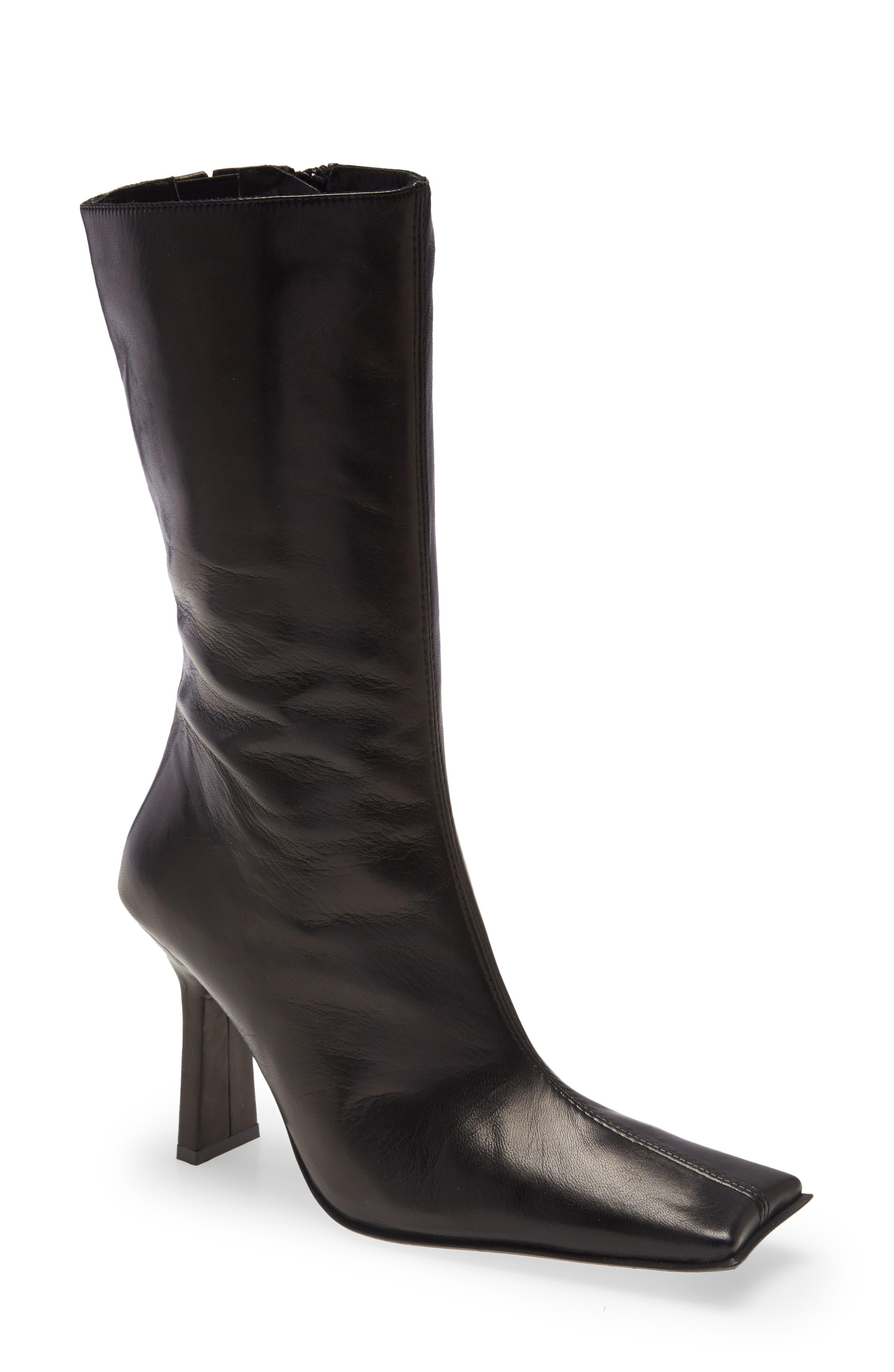 Noor Square Toe Boot