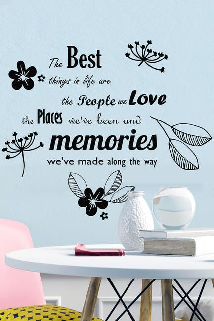 Image of WalPlus The Best Things in Life Decal