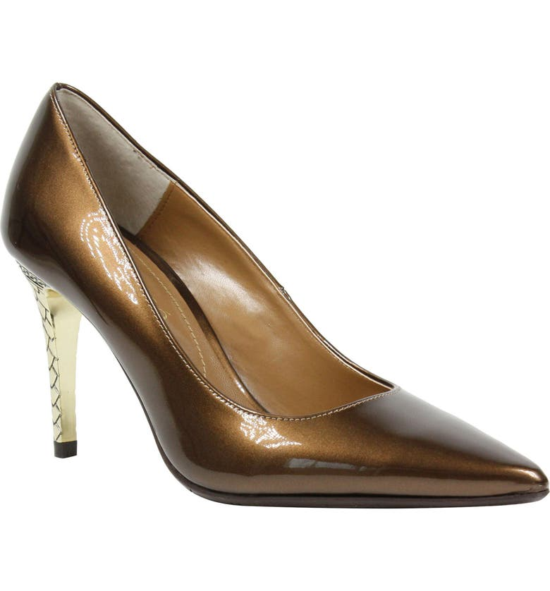 J. RENEÉ 'Maressa' Pointy Toe Pump, Main, color, BRONZE