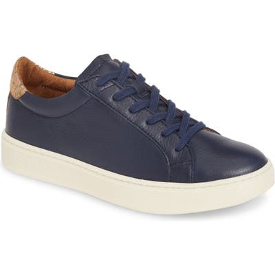 Sofft Somers Tie Sneaker- Blue