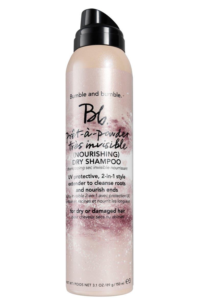 BUMBLE AND BUMBLE. Bumble and bumble Prêt-a-Powder Très Invisible Nourishing Dry Shampoo, Main, color, NO COLOR