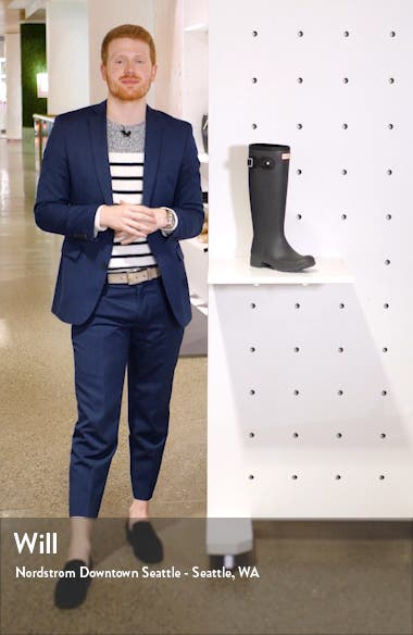'Tour' Packable Rain Boot, sales video thumbnail