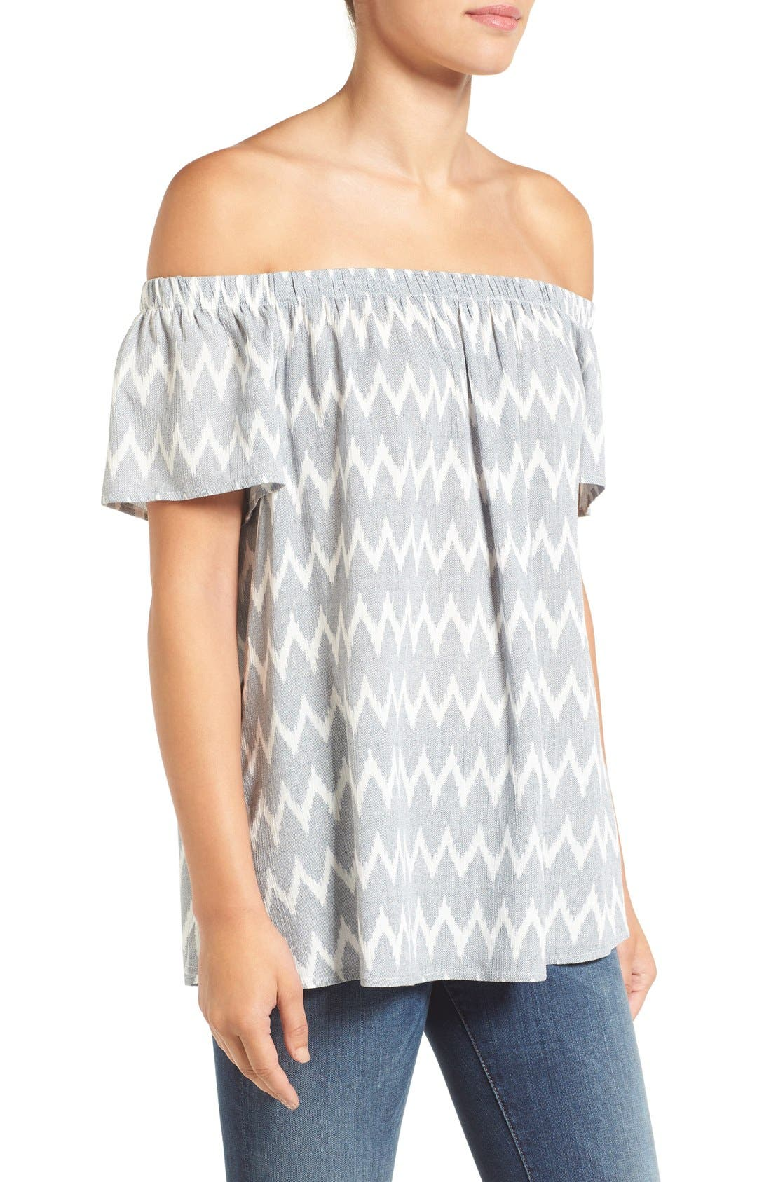 ,                             Off the Shoulder Top,                             Alternate thumbnail 9, color,                             070