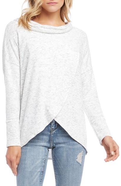 Karen Kane Sweaters COWL NECK SWEATER
