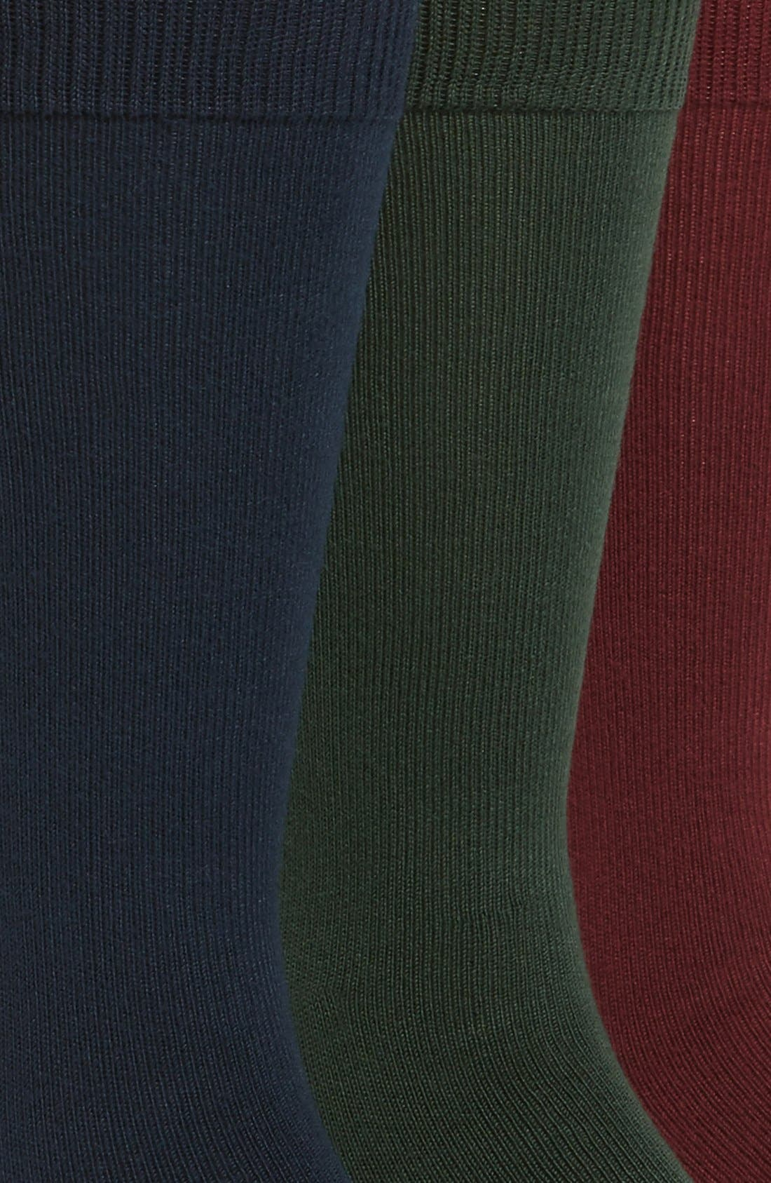 ,                             Assorted 3-Pack Supersoft Socks,                             Alternate thumbnail 38, color,                             930