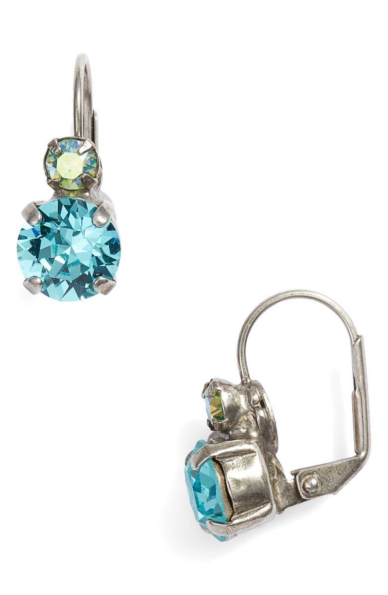 Sorrelli Round Crystal Drop Earrings