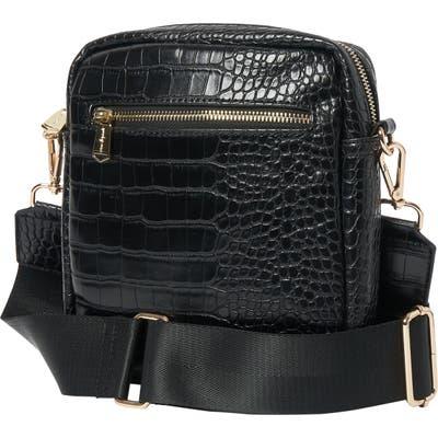 Urban Originals Catch Up Vegan Leather Crossbody Bag - Black
