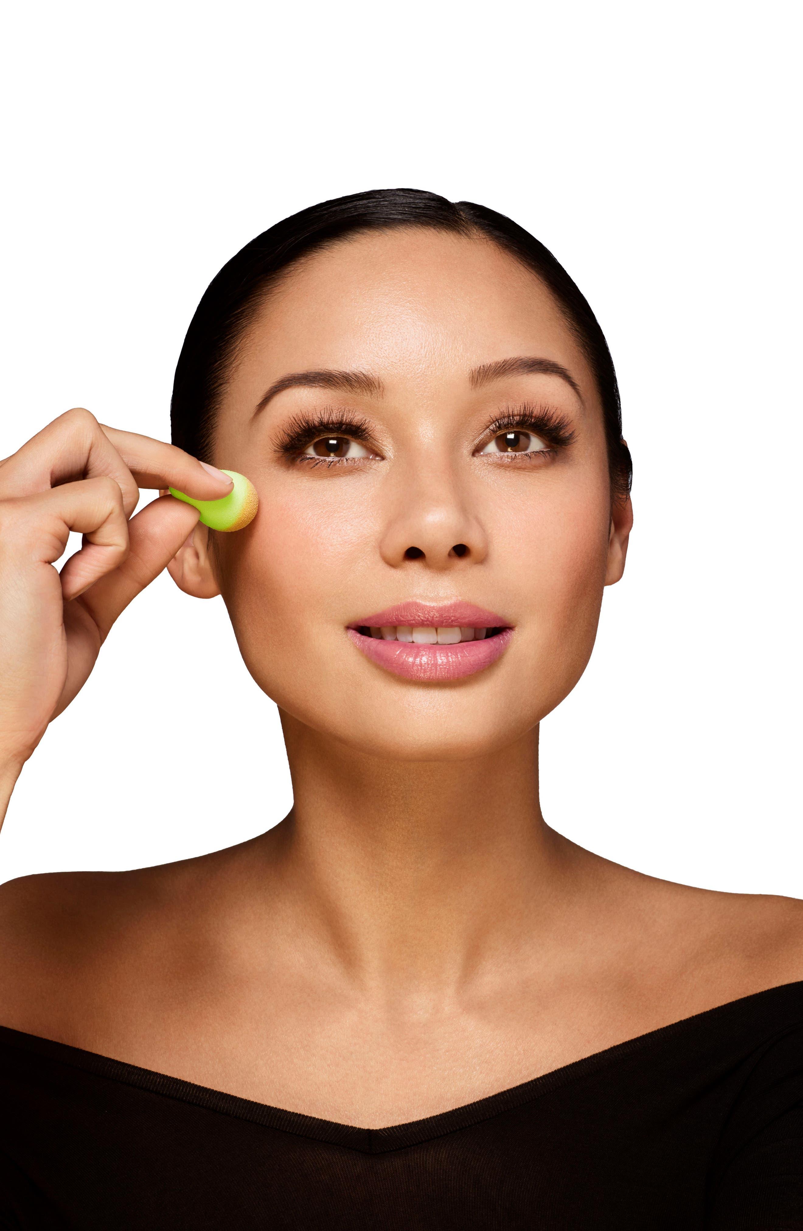 ,                             micro.mini Highlighting & Contouring Makeup Sponge Applicator,                             Alternate thumbnail 6, color,                             000