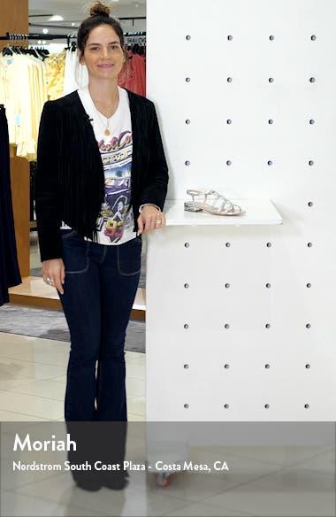 Stefan Crystal Embellished Slingback Sandal, sales video thumbnail