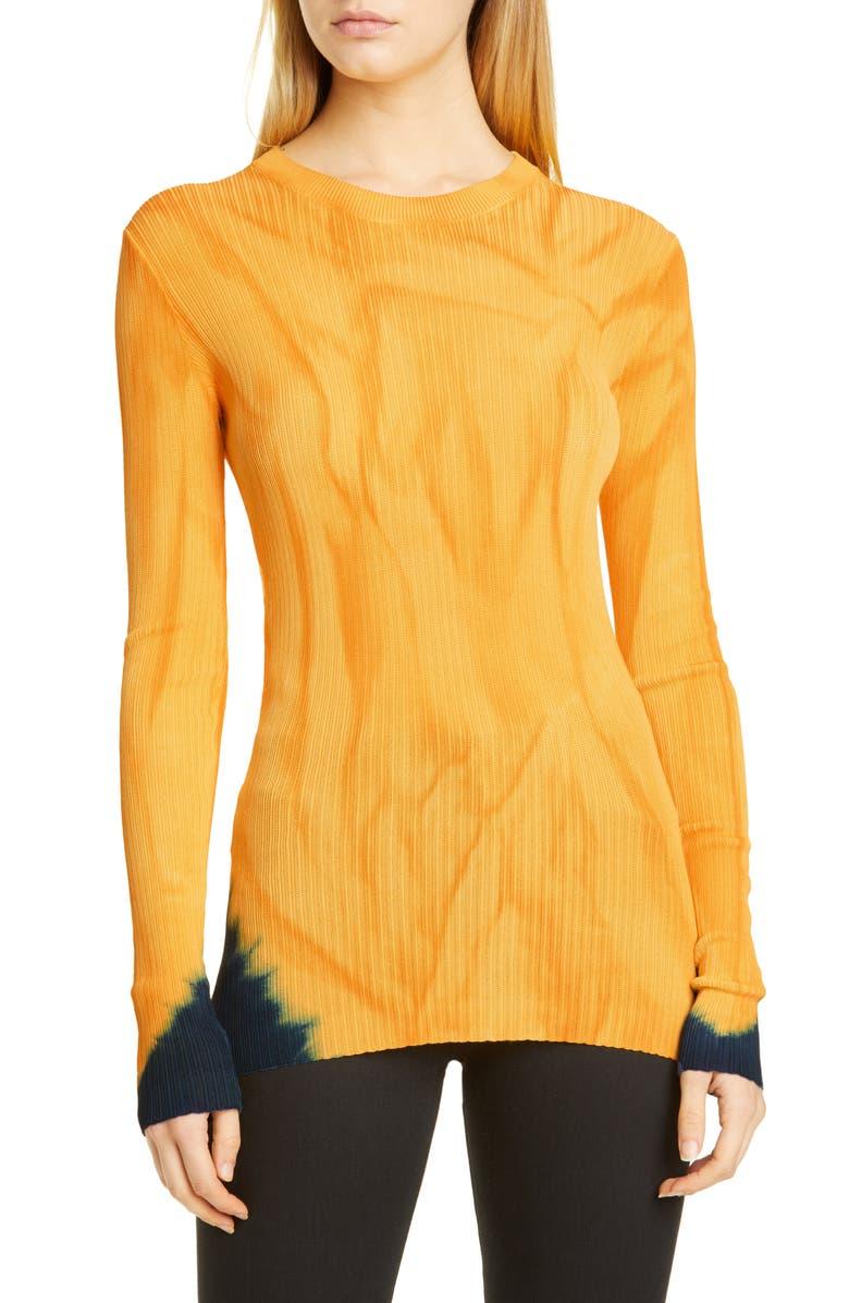 PROENZA SCHOULER Tie Dye Sweater, Main, color, 820