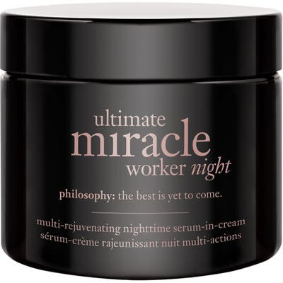 Philosophy Ultimate Miracle Worker Night Multi-Rejuvenating Nighttime Serum-In-Cream