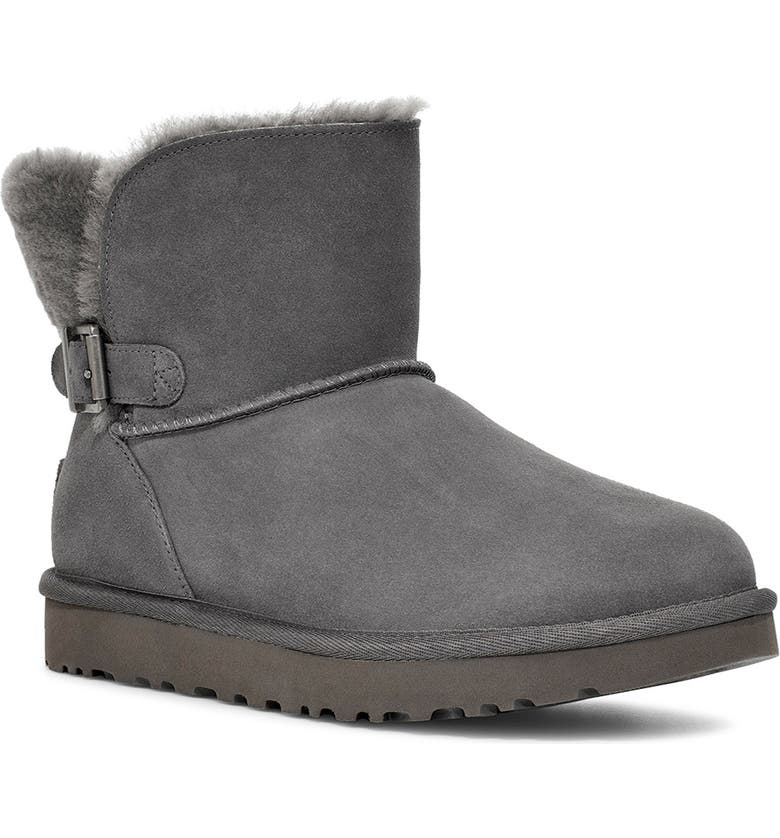 UGG<SUP>®</SUP> Karel Boot, Main, color, CHARCOAL SUEDE