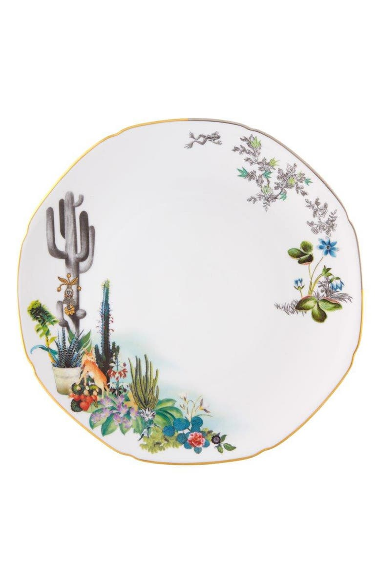CHRISTIAN LACROIX Reveries Dinner Plate, Main, color, WHITE