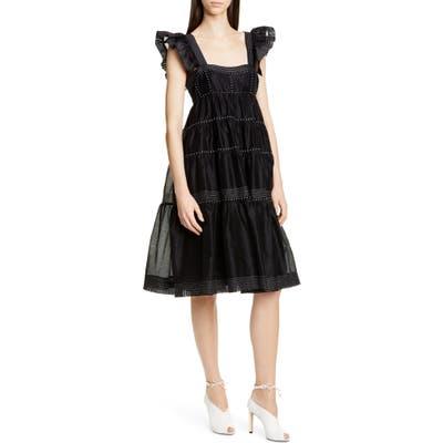 Ulla Johnson Rosalie Tiered Dress