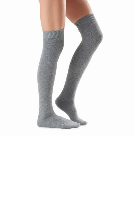Image of Tavi Noir Ellis Point Over-the-Knee Socks