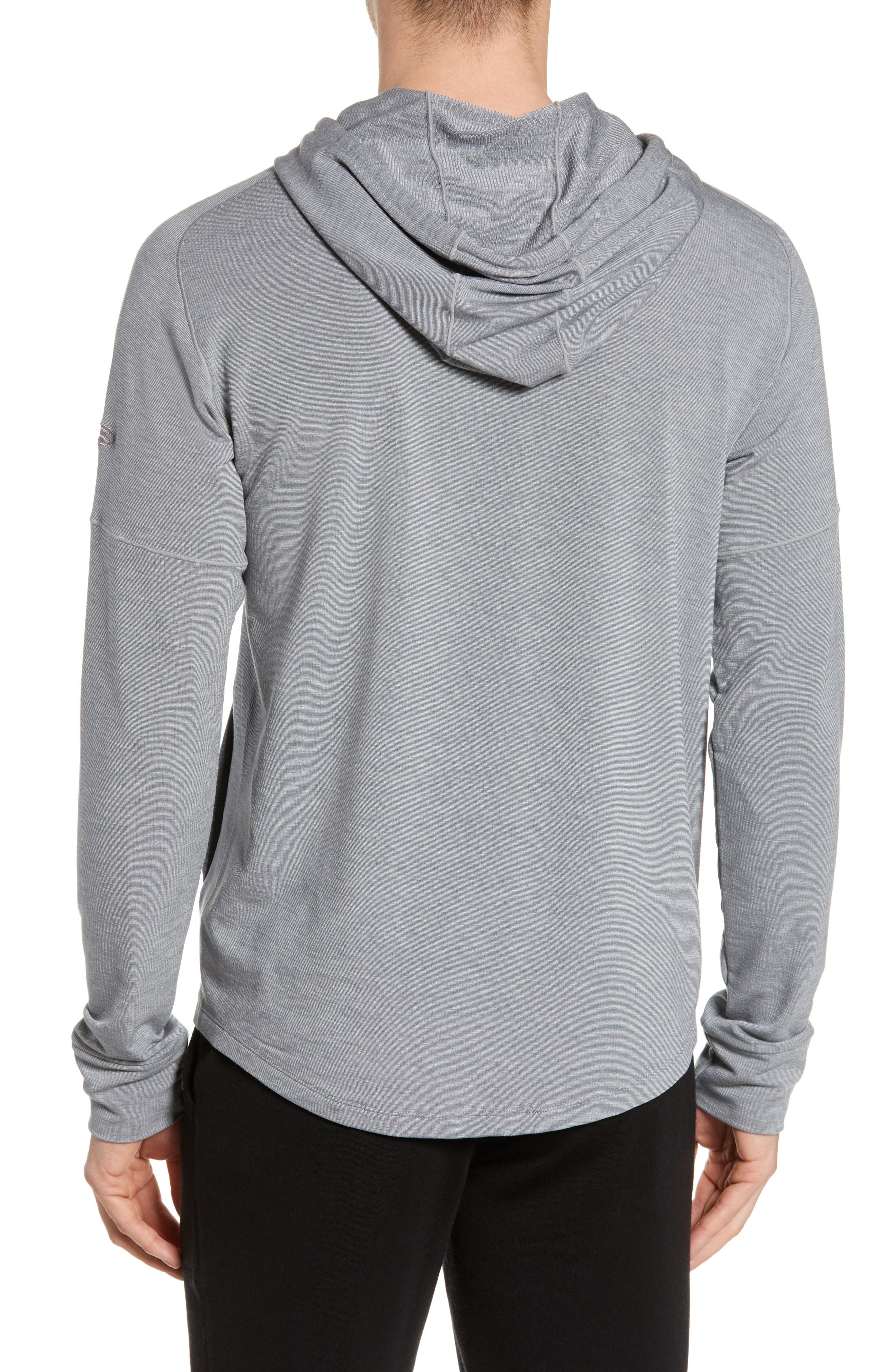 ,                             Momentum Hoodie,                             Alternate thumbnail 2, color,                             FOSSIL/ SNOW HEATHER