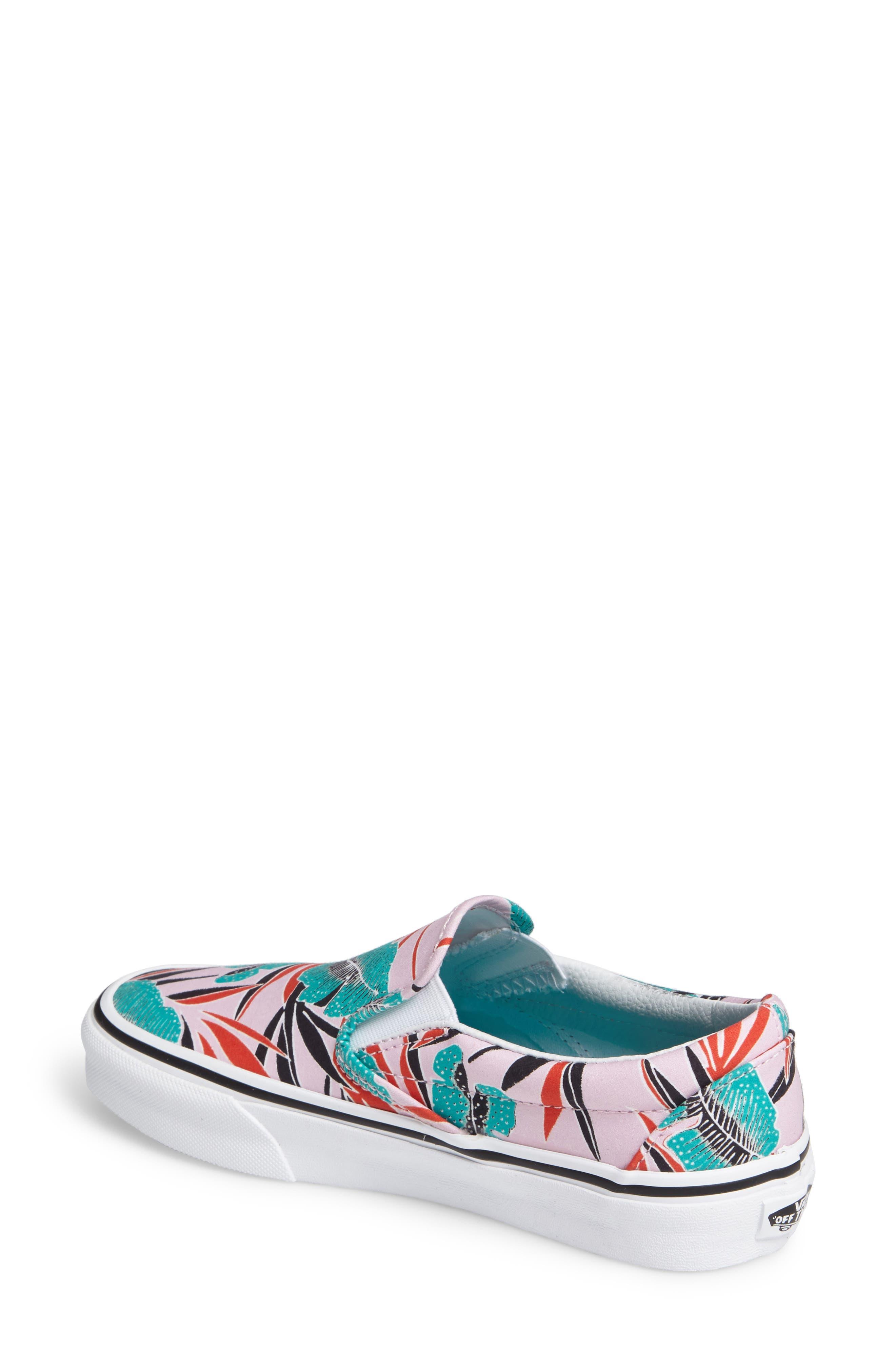 ,                             Classic Slip-On Sneaker,                             Alternate thumbnail 428, color,                             660