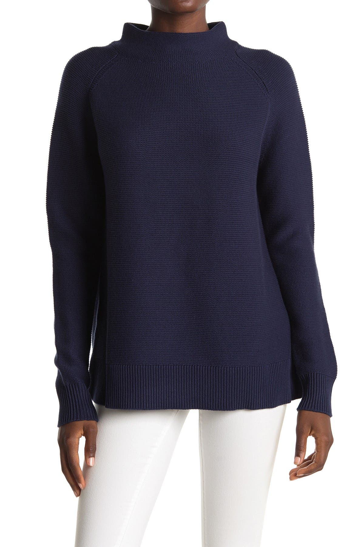 Image of Kinross Chunky Knit Funnel Neck Sweater