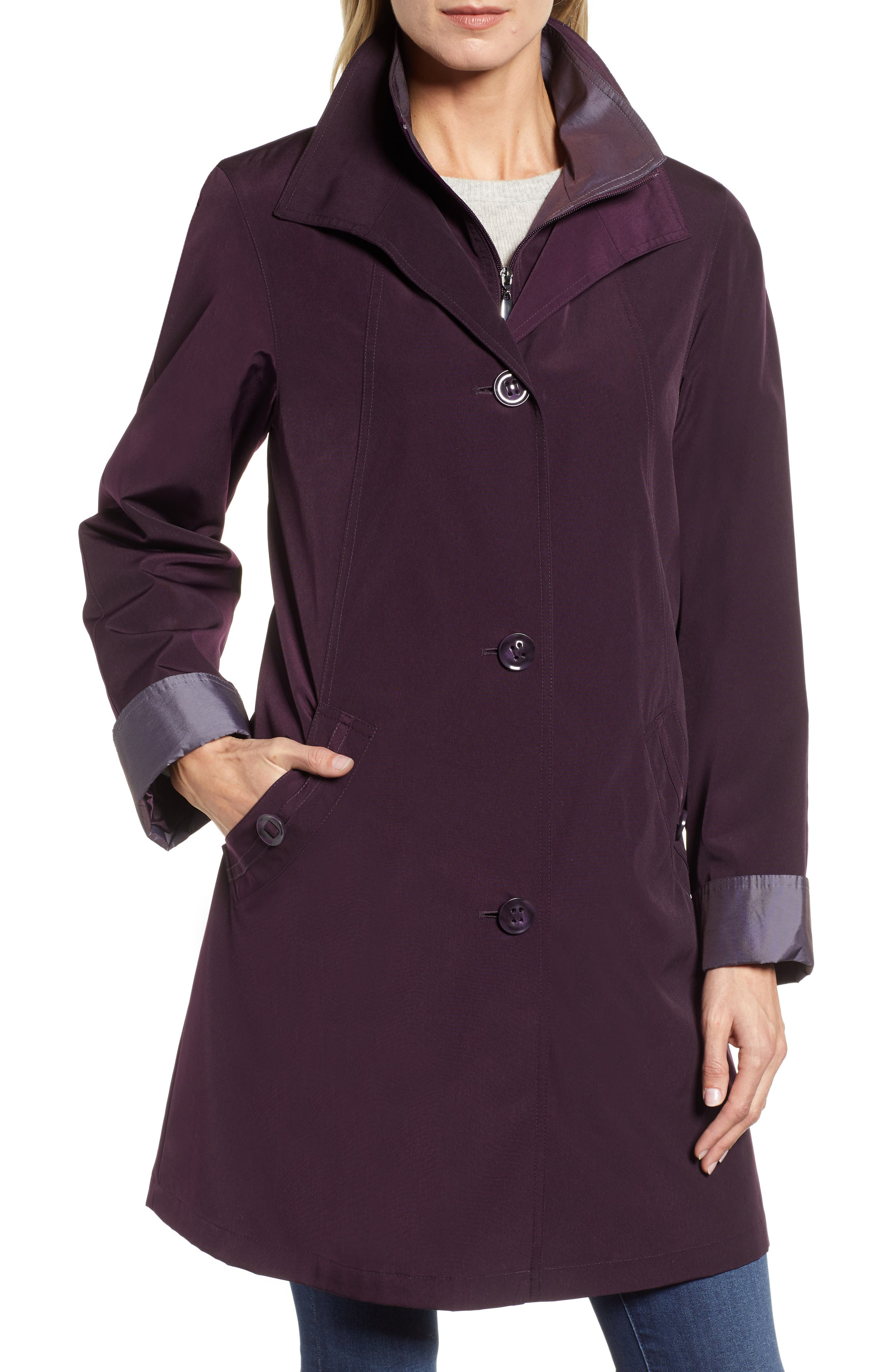,                             Detachable Hood & Liner Raincoat,                             Alternate thumbnail 11, color,                             518
