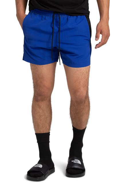 Image of The North Face Extreme Colorblock Drawstring Shorts
