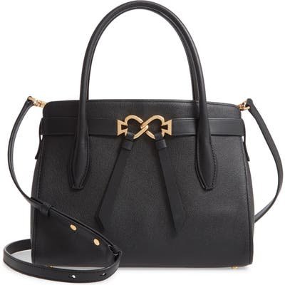 Kate Spade New York Medium Toujours Leather Satchel - Black