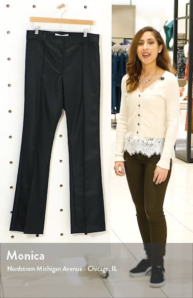 Hibiscus Houndstooth Flare Pants, sales video thumbnail