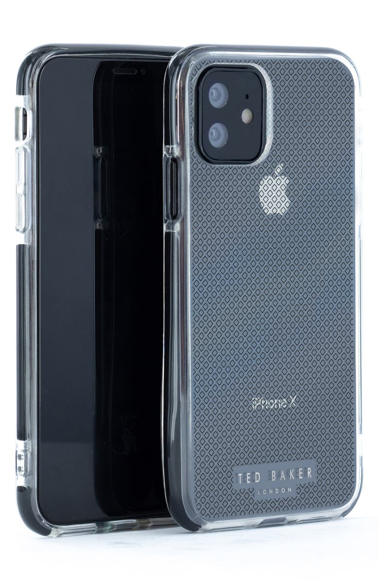 TED BAKER LONDON Geo Diamond iPhone 11 Pro Case, Main, color, CLEAR