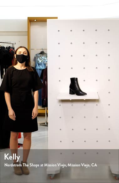 Nix Pointed Toe Bootie, sales video thumbnail