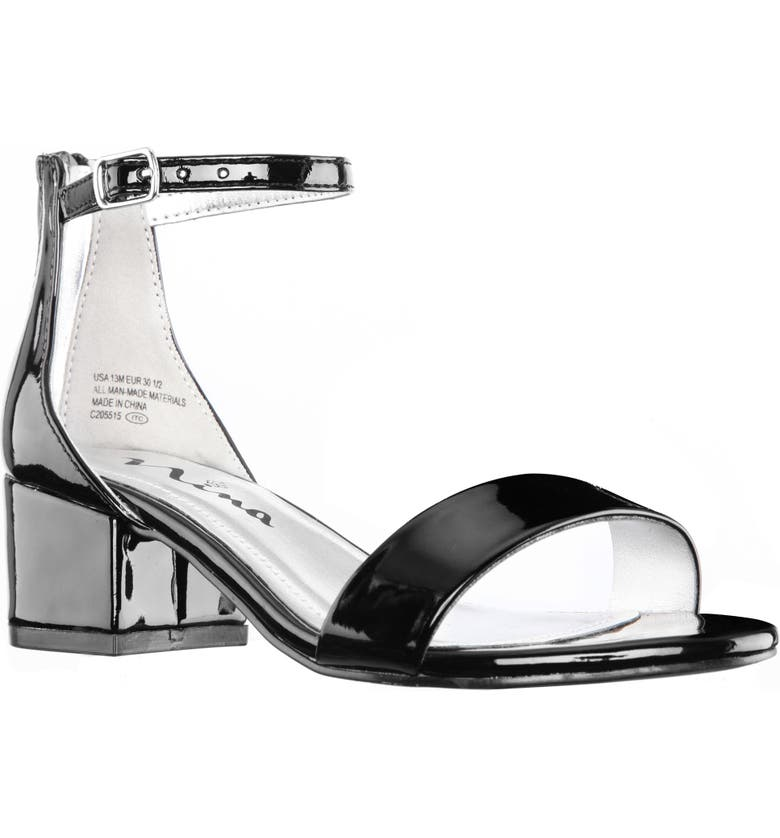 NINA Hidi Sandal, Main, color, BLACK PATENT