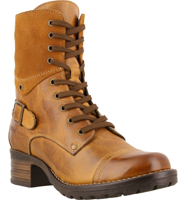TAOS Crave Boot, Main, color, GOLDEN TAN LEATHER