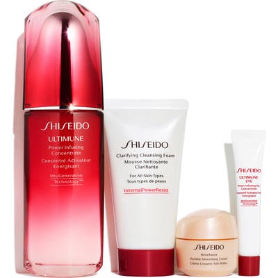 Shiseido Ultimate Defense Strengthen & Resist Wrinkles Set (Nordstrom Exclusive) ($189 Value)