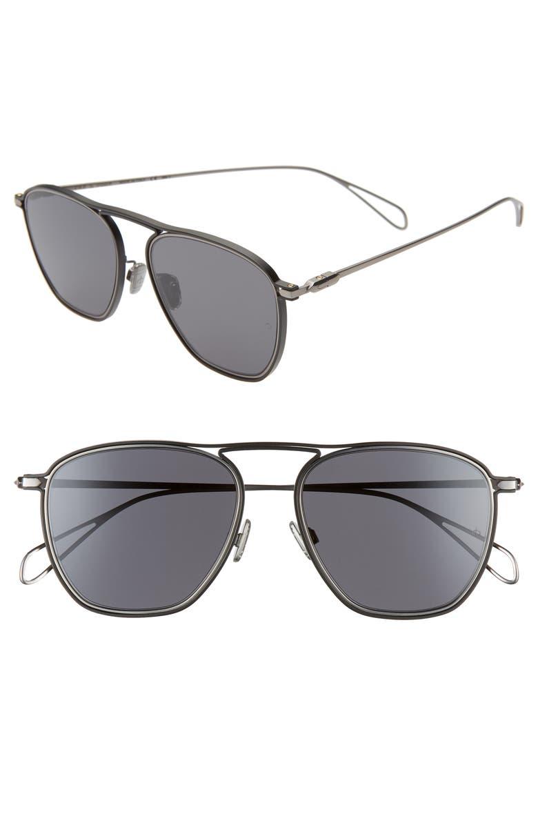 RAG & BONE 54mm Navigator Sunglasses, Main, color, 020