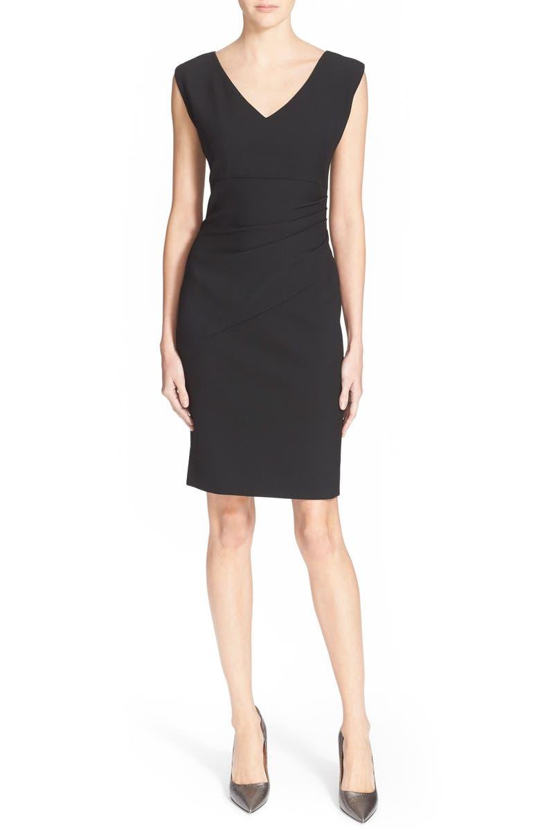 DIANE VON FURSTENBERG 'Bevin' Sheath Dress, Main, color, 001