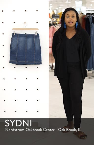 Denim Miniskirt, sales video thumbnail