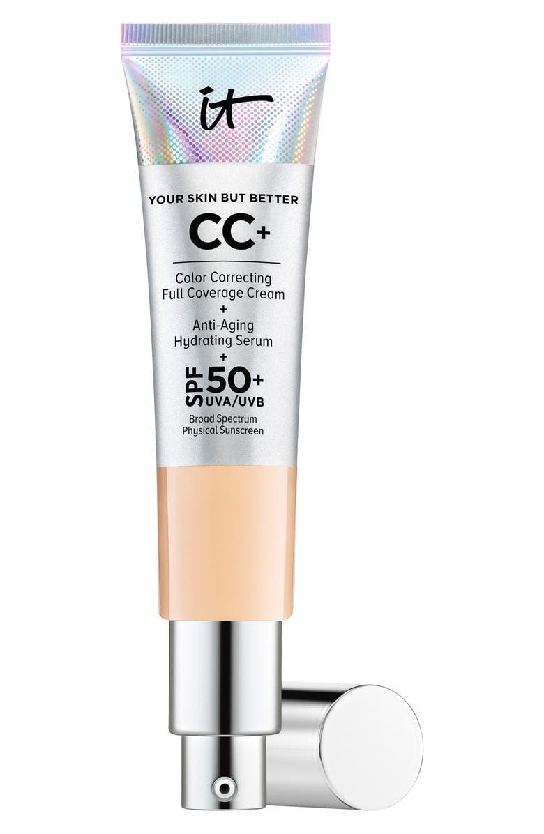 IT COSMETICS CC+ Cream with SPF 50+, Main, color, MEDIUM