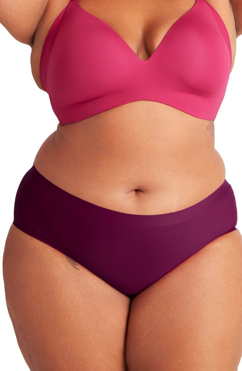 KNIX Essential Boyshorts, Main, color, PLUM VELVET