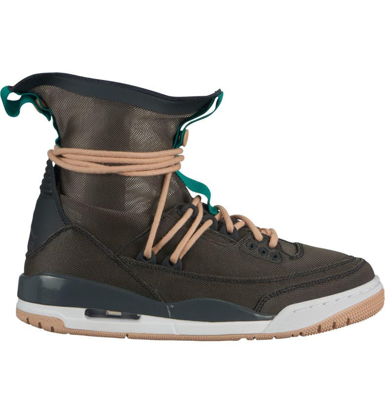 JORDAN Air Jordan 3 RTR EXP LITE Sneaker, Main, color, ANTHRACITE/ MYSTIC GREEN
