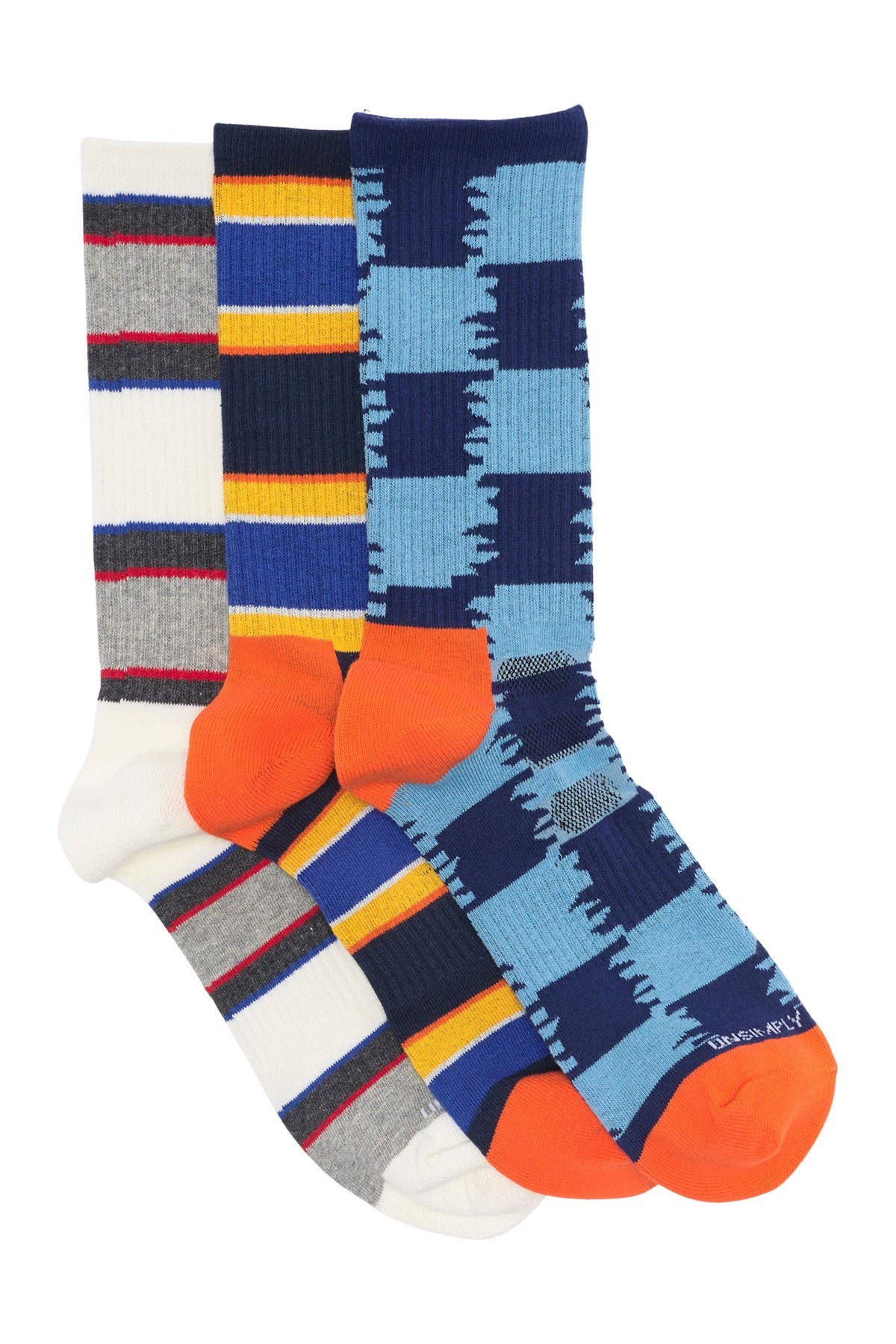 Image of Unsimply Stitched Athletic Crew Socks - Pack of 3