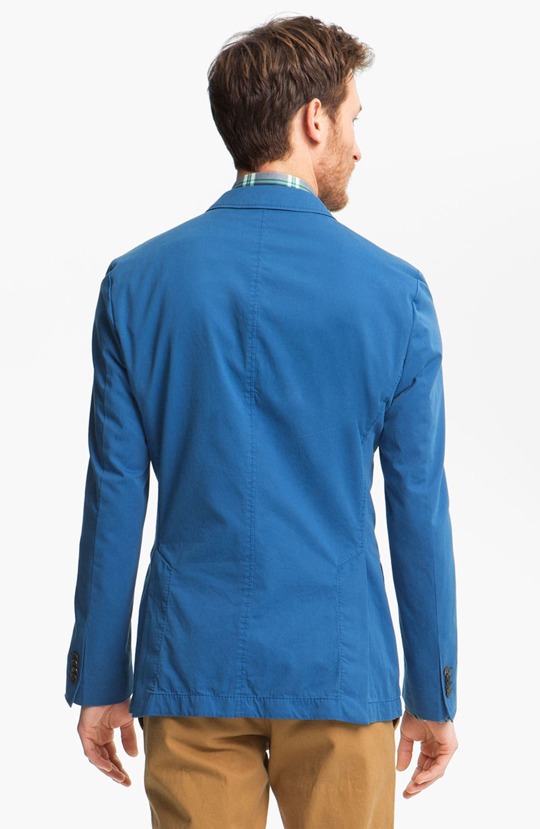 ,                             BOSS HUGO BOSS 'Heaven' Trim Fit Cotton Blazer,                             Alternate thumbnail 5, color,                             440