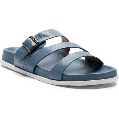 Blondo Selma Waterproof Slide Sandal, Blue