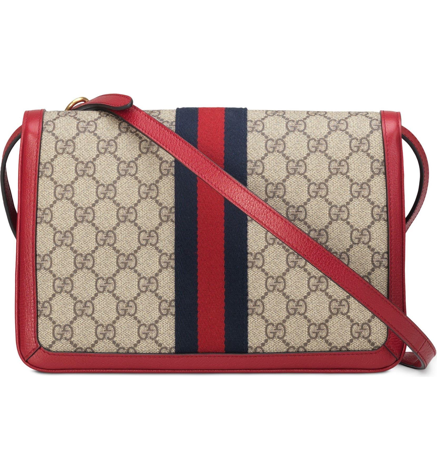 cb0964a8e6ec Gucci Queen Margaret GG Supreme Small Crossbody Bag | Nordstrom