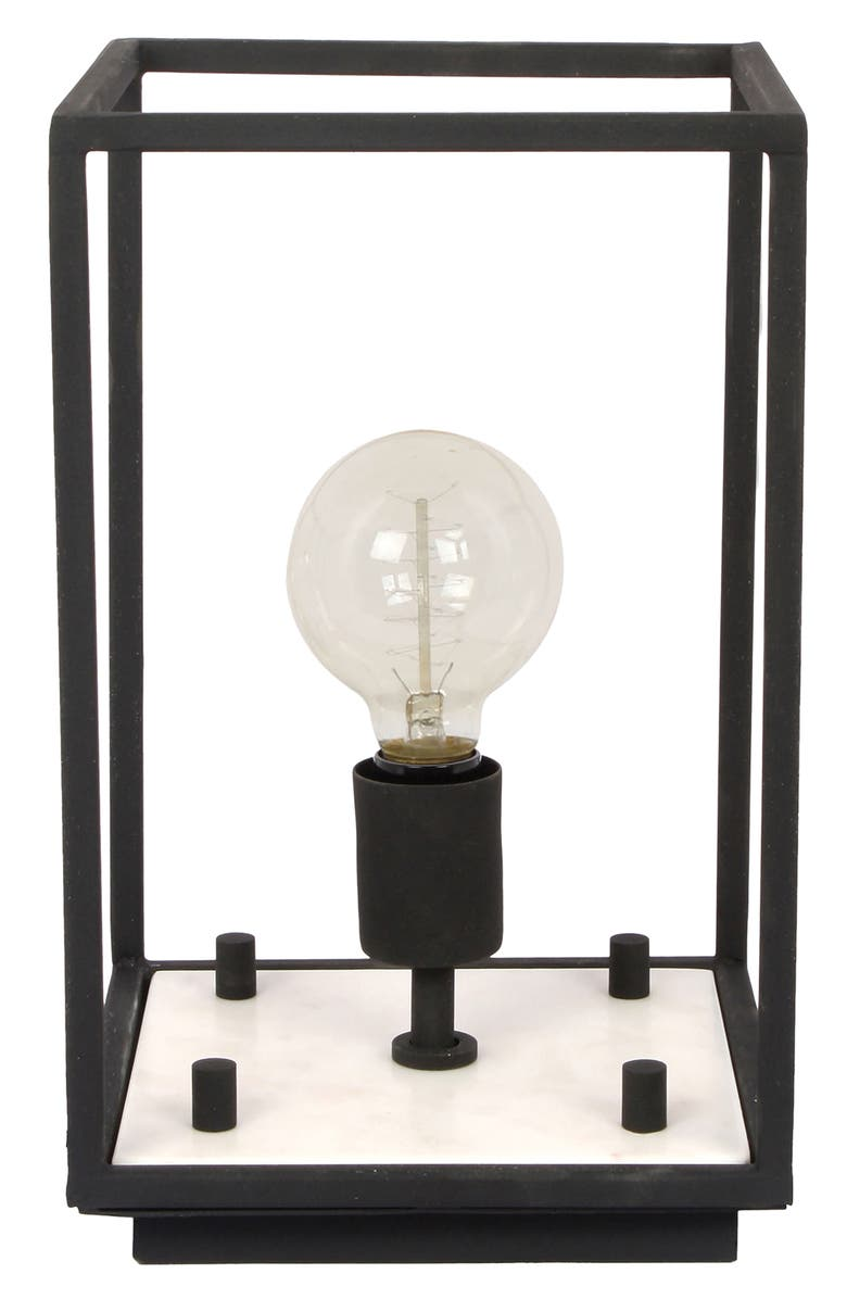 RENWIL Shandy Table Lamp, Main, color, BLACK WHITE MARBLE