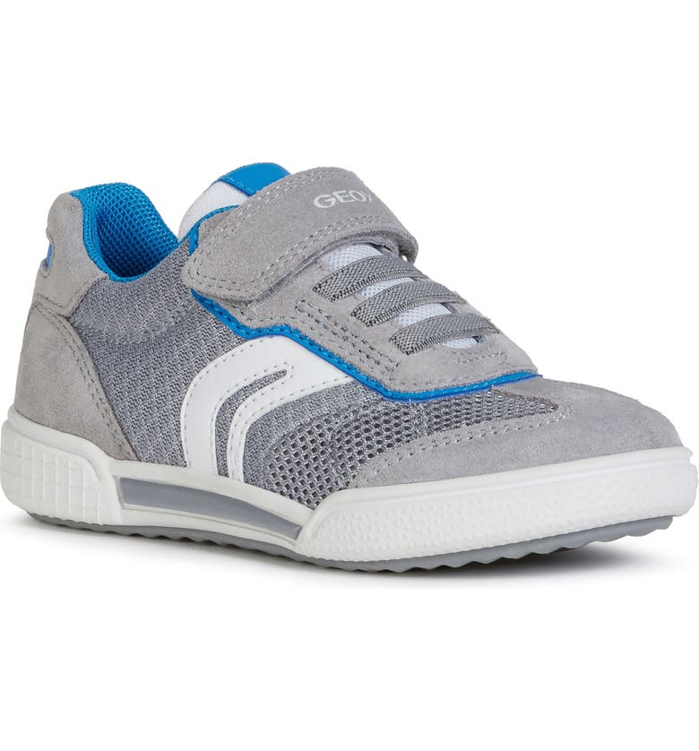GEOX Poseido 3 Sneaker, Main, color, GREY/ SKY