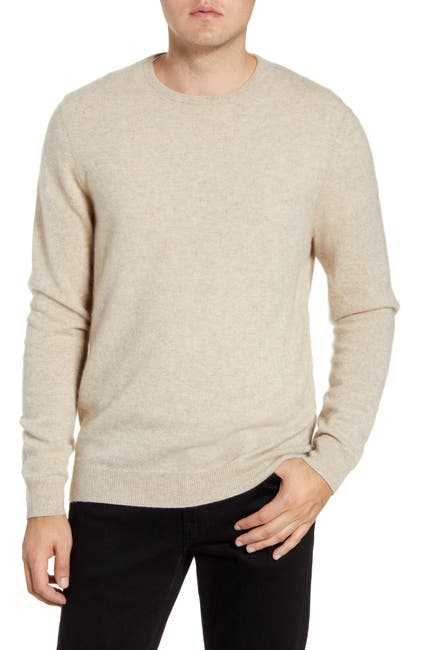 Image of NORDSTROM MEN'S SHOP Crew Neck Cashmere Sweater