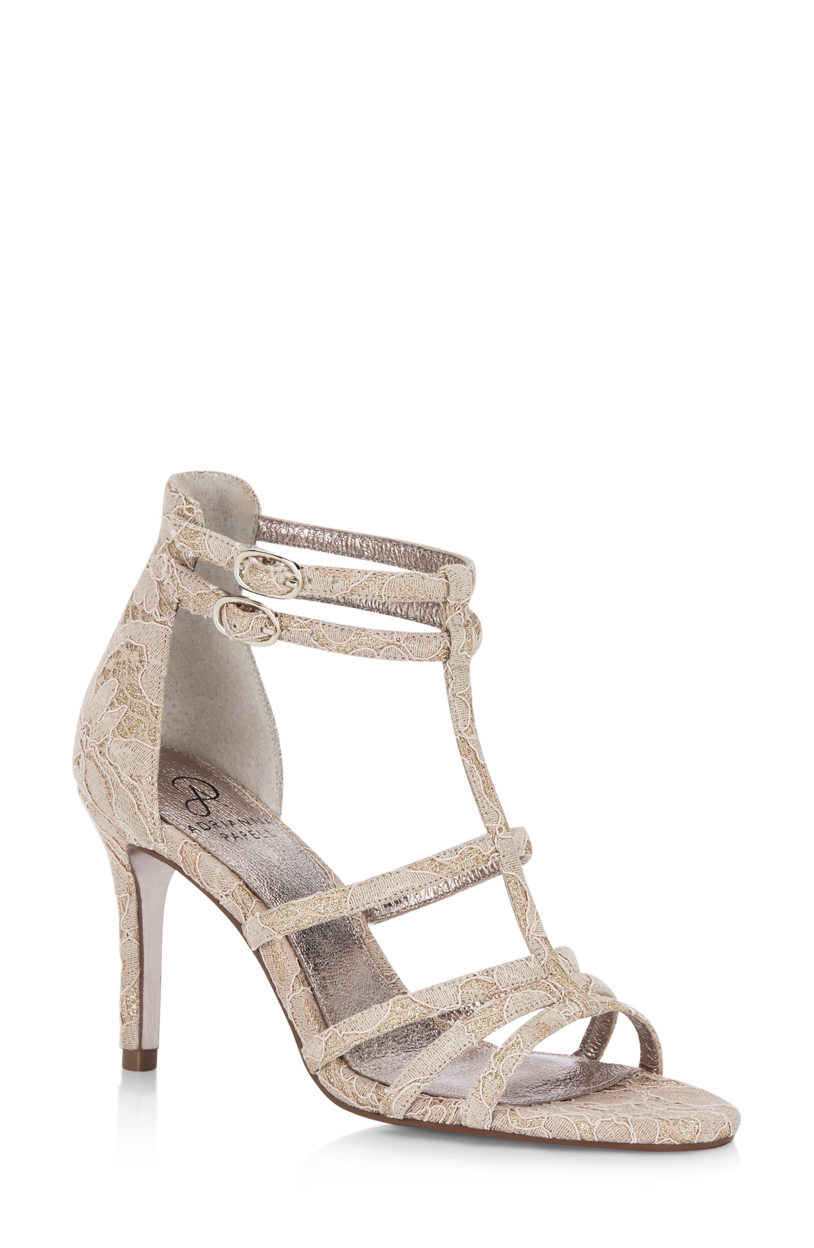 Adrianna Papell Adara Ankle Strap Sandal- Pink