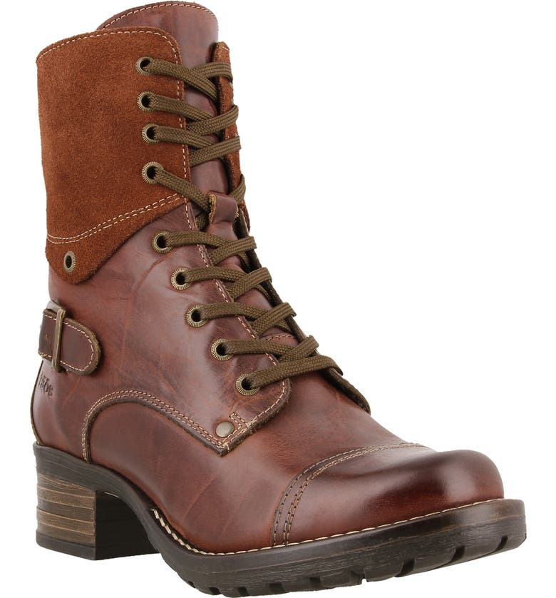 TAOS Crave Boot, Main, color, BRUNETTE LEATHER