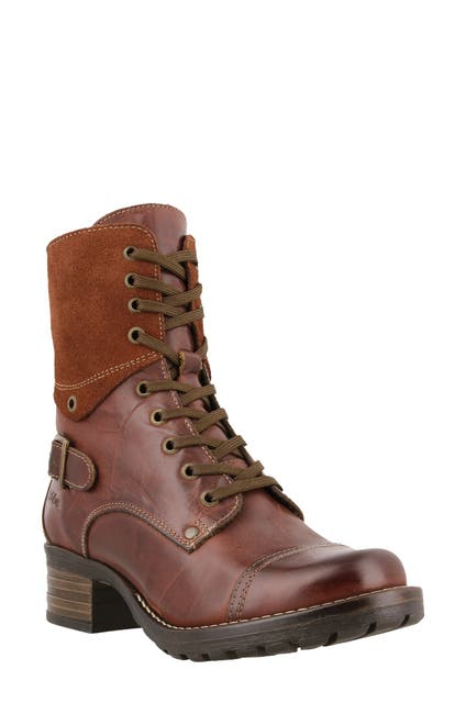 Image of Taos Crave Leather Lace-Up Boot